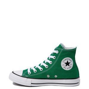 Green Converse All Star Chuck Taylor All Stars